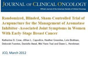 meme kanseri, eklem ağrıları, akupunktur, aromataz inhibitörü