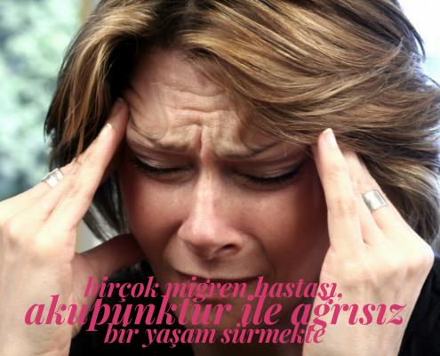 migren, akupunktur, Antalya, migren tedavisi, bulantı, kusma, ışık çakmaları