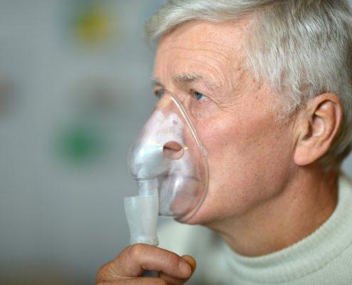 Dispne, solunum sıkıntısı, nefes darlığı, akciğer kanseri, morfin