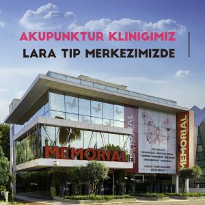 Antalya ,Akupunktur, Memorial Lara Meme ve Tiroid Merkezi,